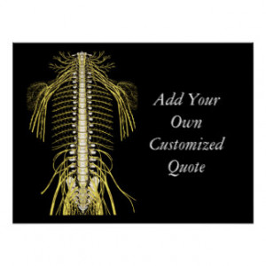 Chiropractic Quotes & Sayings Customized Poster