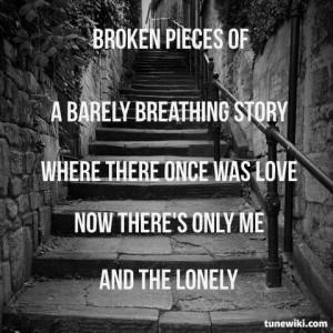 Christina Perri - The Lonely   Quotes
