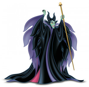 Maleficent, the Mistress of all Evil.