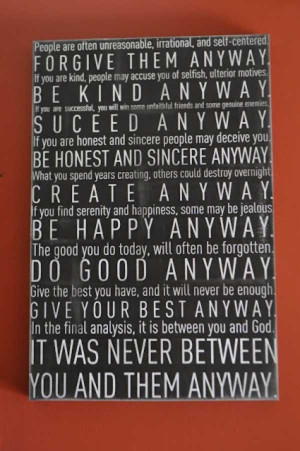 27. Best Quote By Mother Teresa