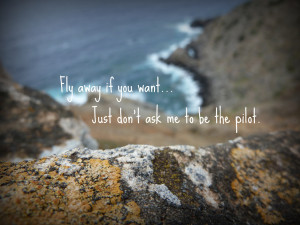 Fly Away If You Want ~ Break Up Quote