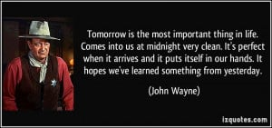 More John Wayne Quotes