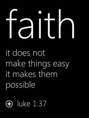 Christian quotes sayings faith luke
