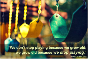 Because we learn in nature...we learn in play.