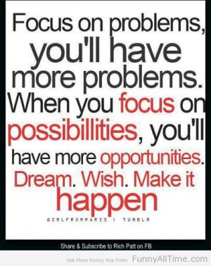 Funny Quotes and Sayings focus on problems