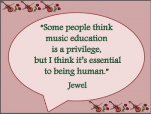 ... quotes about music! From Beethoven to BB King, Billy Joel and Jewel