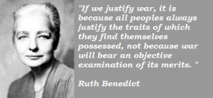 Ruth benedict famous quotes 4