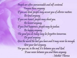 quote mother theresa