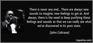 More John Coltrane Quotes