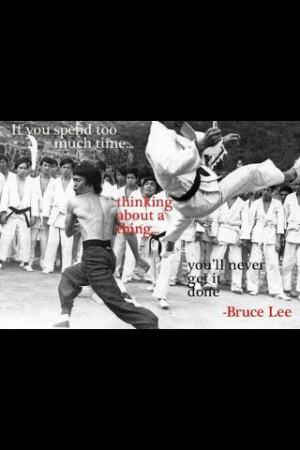 Bruce Lee...nuff said