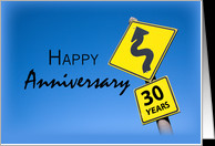 30th Year Business Anniversary, Company, Corporate Congratulations ...