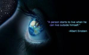Blue eyes, quote, expression, lettering, black, st desktop wallpapers ...