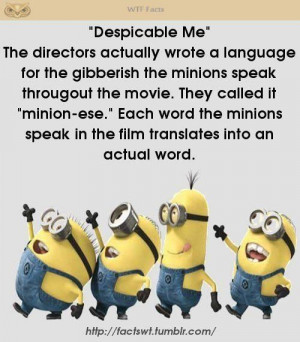 Minions Language In Spanish