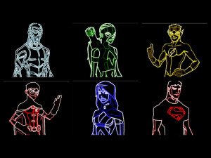 Young Justice thing...