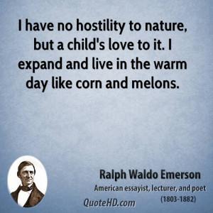 Emerson Nature Quotes Nature Ralph Waldo Emerson