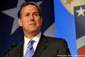 Rick Santorum quoted a gay slur to defend anti-LGBT discrimination on ...