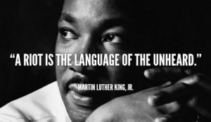Martin Luther King quote on justice