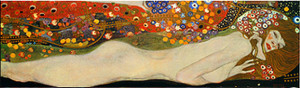 Sea Serpents Framed Art Print