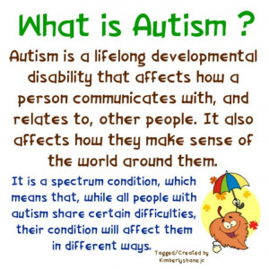 Great overall description/definition of #Autism . What else would you ...