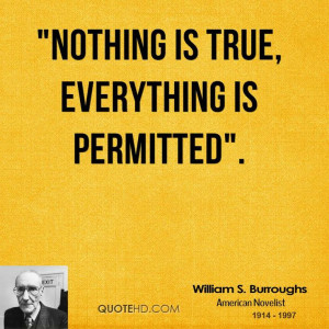 More William S. Burroughs Quotes on www.quotehd.com