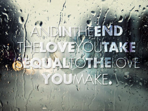 love quote the beatles the beatles quotes