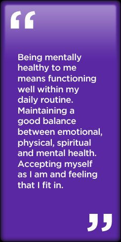 Emotional, physical, spiritual and mental health x