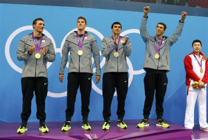 Ryan Lochte, Conor Dwyer, Ricky Berens, MICHEAL PHELPS!!!!