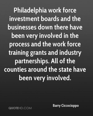 Philadelphia work force investment boards and the businesses down ...