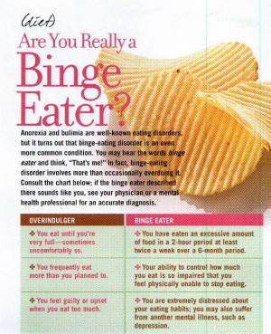Biological factors. People with binge-eating disorder may have ...