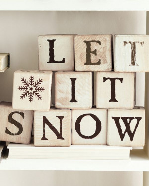 quote let it snow