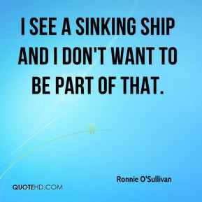 sinking ship quotes