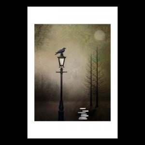 Art: Quote The Raven by Artist Charlene Murray Zatloukal