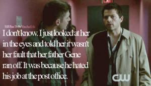 Hilarious Castiel Quotes - supernatural-quotes Photo