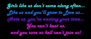 ... ://www.pics22.com/girls-like-us-dont-come-along-often-attitude-quote