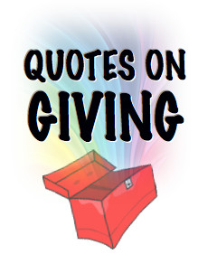 Qutoes on Giving