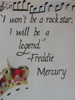 Freddie Mercury Quote by PoobMama