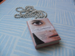 Girl, Interrupted book necklace by InsaneJellyBean95 on deviantART