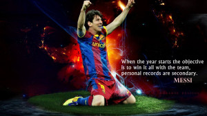 Home » Quotes » Lionel Messi - Objective Motivational Quotes ...