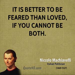 machiavelli the prince important quotes clinic niccolo machiavelli ...