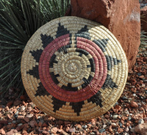 Details about LARGE TRADITIONAL NAVAJO CEREMONIAL WEDDING BASKET - 19 ...