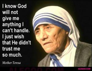 Mother Teresa's quote
