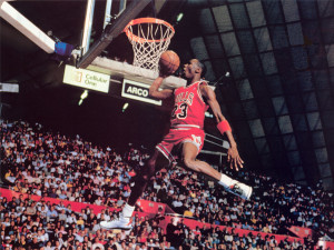to soothe it have a look at this it s a floating michael jordan