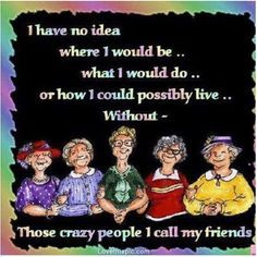 crazy people i call friends quotes cute friendship quote friendship ...