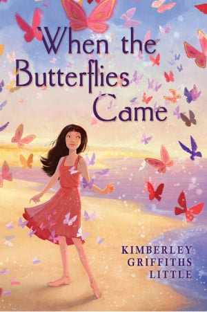 When the Butterflies Came Cover Reveal: Isn't it Pretty?