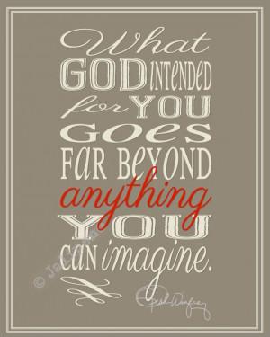 Wonderful quote from Oprah Winfrey: