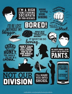 THE COLLECTION OF SHERLOCK AND MORIARTY QUOTES