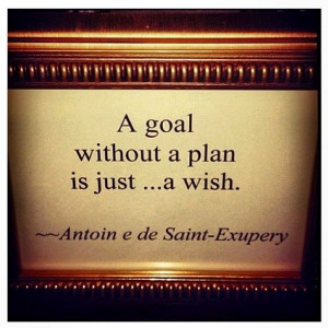 Motivation Picture Quote Goal Plan Wish