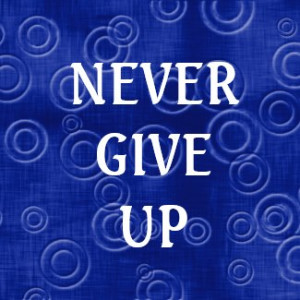 word quote never give up magnet by semas87 browse other 3 word quote ...