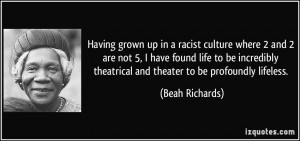 More Beah Richards Quotes