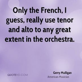 Tenor Quotes